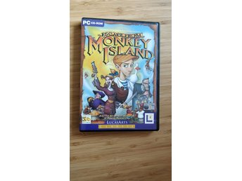 Escape from Monkey Island - PC cd rom
