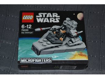 "Lego ""Star Destroyer"" Microfighters 75033 Star Wars Series 1 Ny Oöppnad Se Hit!"