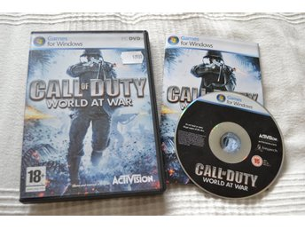 Call of Duty World At War PC Komplett Nyskick