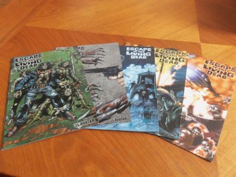 Escape of the living dead nr 1-5 + annual + Fearbook