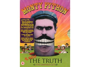 Monty Python -Almost the truth: The Lawyers Cut 3DVD INPLAST