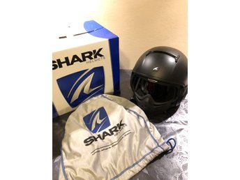 Shark Dark Helmet - RAW - Mattsvart