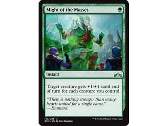 Might of the Masses - Magic The Gathering