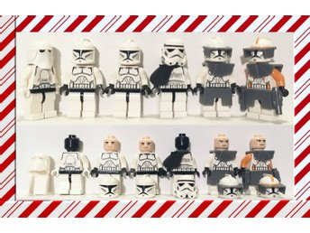 STAR WARS LEGO - CODY / COLLECTION OF TROOPERS