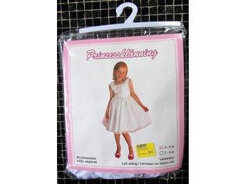 Prinsessklänning 4-6 år Ny och Ouppackad! (335847940) ᐈ Köp på Tradera 8d24d1e39dd8d