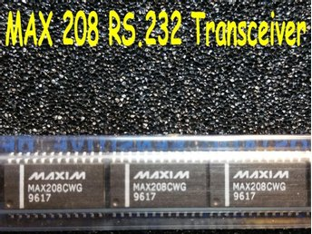 MAX208 - RS232 Transceivers (3 st).