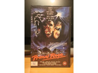 Primal Rage - England, Ex Rental. Castle Home Video, VHS