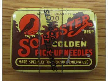 Songster Golden Pick-Up Needles Stift till grammofon stenkaka
