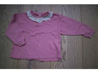 Rosa tröja med spets från H&M storlek 74