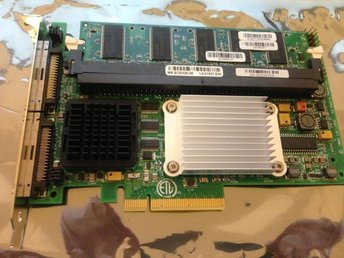 LSI MR SCSI320-2E -128MB PCI-e