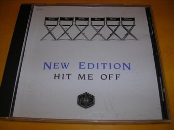 NEW EDITION - hit me off - promo  -  (cd)