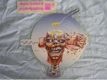 Iron Maiden - Can I Play With Madness, bildskiva