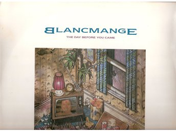 "Blancmange – The Day Before You Came – 12"" vinyl 45 – Abba cover version"