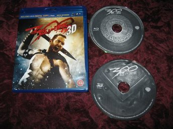300 RISE OF AN EMPIRE 3D+BLU-RAY (SULLIVAN STAPLETON,EVA GREEN) BLU-RAY