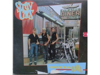Stray Cats title* Gonna Ball* Rockabilly LP Scandinavia