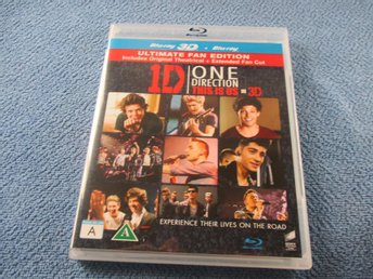 ONE DIRECTION / THIS IS US BLU RAY 3D + BLU RAY / SV TEXT