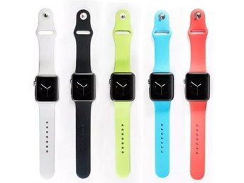 Vitt Armband till Apple Watch 42mm