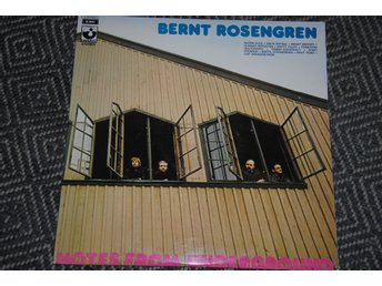 BERNT ROSENGREN - Notes from Underground - 2-LP orig klassiker