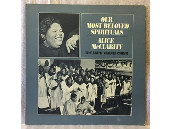 ALICE McCLARITY -- OUR MOST BELOVED SPIRITUALS - UAJ 14023 - EX+