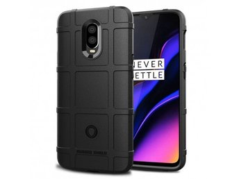 Rugged Shield skal OnePlus 6T (A6010) Färg: Svart