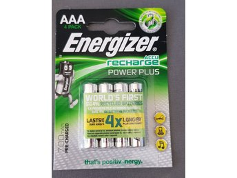 Energizer Power Plus Batterier 700 mAh, 4-pack