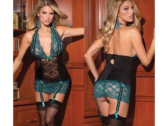 Nattlinne underkläder stauy-up med spets - Vallentuna - Nattlinne underkläder stauy-up med spets - Vallentuna