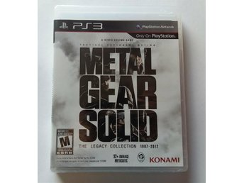 Metal Gear Solid: The Legacy Collection - NYTT! (PS3) - Hjo - Metal Gear Solid: The Legacy Collection - NYTT! (PS3) - Hjo