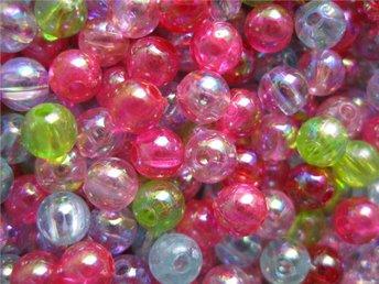500 transparenta akrylpärlor i olika färger - Ellös - 500 transparenta akrylpärlor i olika färger - Ellös