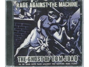 RAGE AGAINST THE MACHINE -THE GHOST OF TOM JOAD (CD SINGLE)