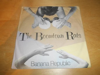 "Vinyl 7"" - The Boomtown rats-  19kr"