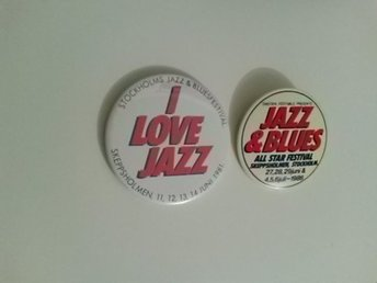 jazz och blues pin.