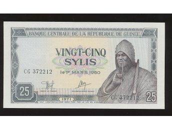 Guinea 25 Sylis 1971 se bild - Västra Frölunda - Guinea 25 Sylis 1971 se bild - Västra Frölunda
