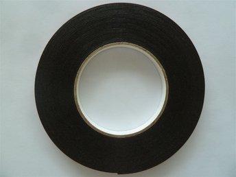 10m Dubbelhäftande Dubbelsidig Tejp - Skumtejp - svart - 10m x 10mm x 1mm - Linköping - 10m Dubbelhäftande Dubbelsidig Tejp - Skumtejp - svart - 10m x 10mm x 1mm - Linköping