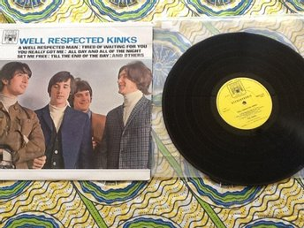 Well respekten Kinks. The Kinks o.u. Marble Arch . Made in England 1966