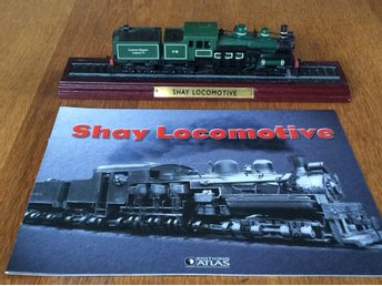 Atlas - Legendariska lok - Shay Locomotive- samlarserie