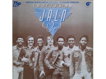 "J.A.L.N. Band title* I Got To Sing (Extended Version)* Disco  12"" Ltd.UK"