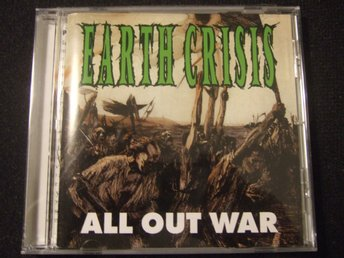 CD - EARTH CRISIS. All out War. 1995