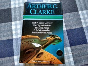 Arthur C Clarke-2001 Space odyssey/City & stars/Deep range/Fall moondust/Rendezv