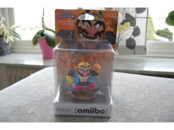 Amiibo Wario. Super Smash Bros.