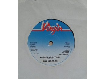 The Motors   titel*  Forget About You* UK New Wave, Pop Rock  7""
