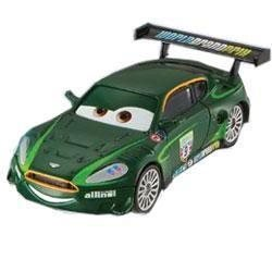 Cars Bilar Mcqueen Disney Pixar - Nigel Gearsley 1:55 metall NY