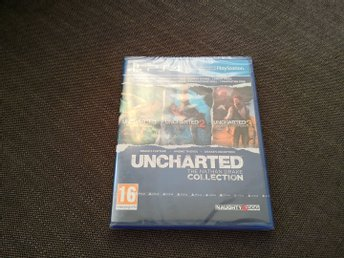 Uncharted: Nathan drake collection PS4 Nytt