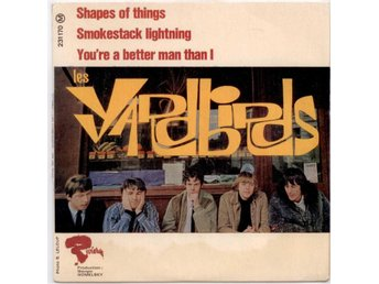 YARDBIRDS - Shapes Of Things  EP  Frankrike