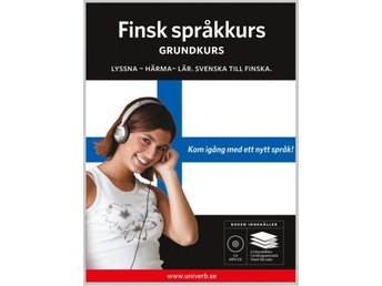 Finsk grundkurs på MP3-CD