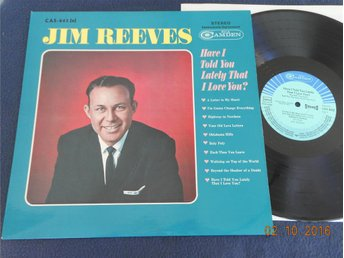 JIM REEVES - Have I told you.., LP RCA Camden CAS-842(e), Tyskland 1964