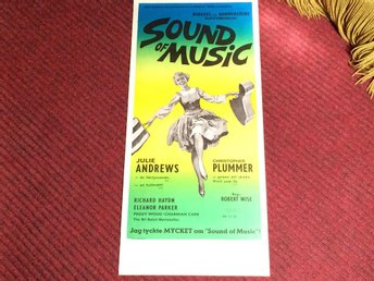 KULT-FILM OVIKT Sound of Music Julie Andrews Christopher PLUMMER  FRI FRAKT
