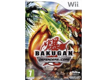 Wii - Bakugan: Defenders of the Core (På Svenska) (Beg)