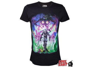 Nintendo Majoras Mask Fierce Deity Link T-Shirt Svart (Medium)