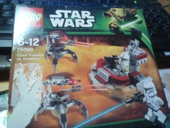 lego ny 75000 starwars cloone troopers vs  droidekas oöppnad