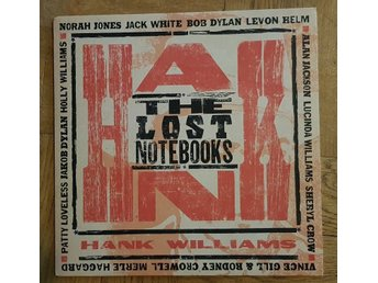 Various - Lost Notebook of Hank Williams LP+CD (Third Man Records, Jack White)